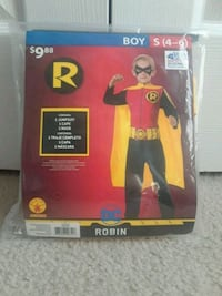 new boy costume size S 4-6 Olney