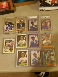 Griffey rookies and autos  Jessup, 20794