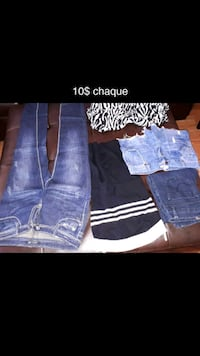 blue denim jeans and pants Longueuil, J4T 3M5