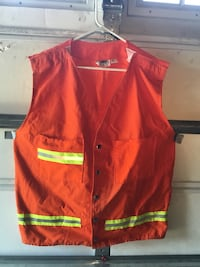 Velcro Taraway reflective safety vest (great for motorcycles) Tacoma, 98422