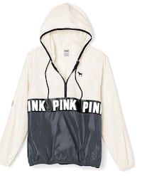 white and black Pink by Victoria's Secret hoodie Pointe-Claire, H9R 5X7