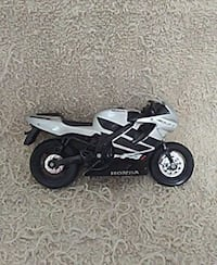 white Honda motocross sport bike scale model Covington, 30016