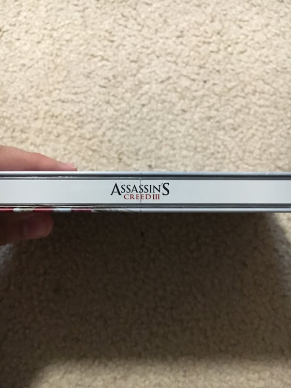 Assassins creed III (3) steelbook case RARE!!! a1299278-b2e3-4759-91a7-f15aa6efb06d