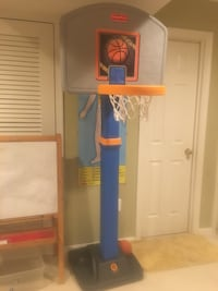 Kids basketball hoop with stand  Chantilly, 20152