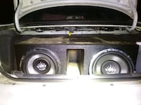 Audio King c9 12 inch subs 1200 watts apiece  Ellijay, 30540