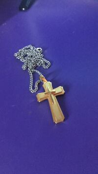 Gold cross necklace Yelm, 98597