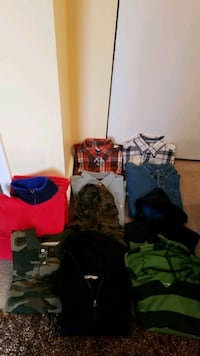 Bundle! Boys hoodies, shirts and fleece(Size 14-16) Milford Mill, 21244