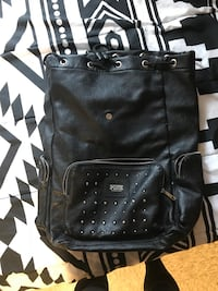 black Victoria's Secret drawstring leather backpack Bloomington, 47405