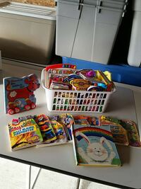 Bucket of variety kid's books Chestermere, T1X 1K2