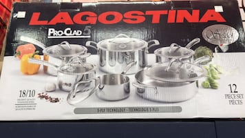 Stainless steel cooking pot box