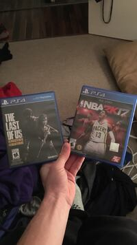 Last of Us Remastered and NBA 2k17