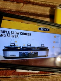 Slow cooker new in box. Taylor, 48180