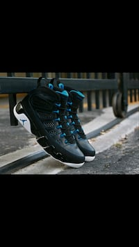 jordan 9 photo blue almost BNIB size 9.5 100% auth