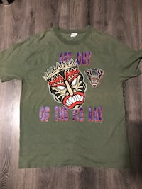 "Vintage 90's Vancouver Voodoo ""Get Out of the Ice Age"" Green T-Shirt Size L Richmond, V6Y 0A7"