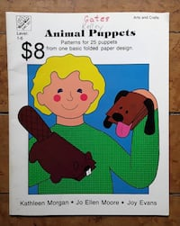 Books of Patterns fro animal puppets Martinsburg, WV, USA