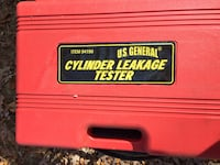 red Cylinder Leakage Tester tool case