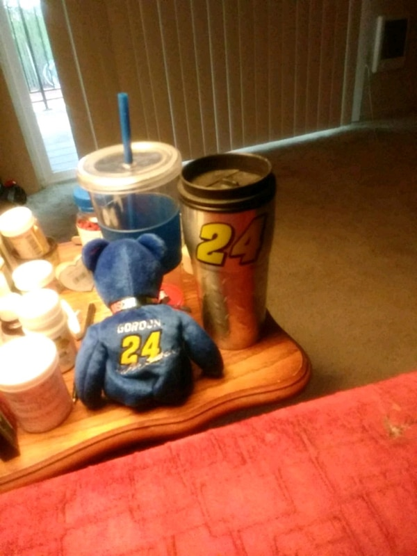 Used Jeff Gordon ty beanie baby and coffee mug for sale in Portland. Next  listing. Previous listing. Sold. Jeff Gordon ty beanie baby ... 0448aa3c0b2