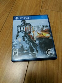 Sony PS4 Battlefield 4 game case Mississauga, L5V 2T2