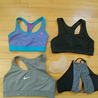 Nike and Champion Sports Bras