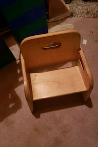Used toddler wooden chair Brampton, L7A 2G5