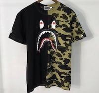Bathing ape camp/black shark 47 km