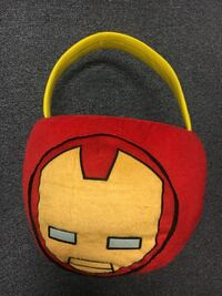 Giant Iron Man Plush Halloween Bucket  St Peters