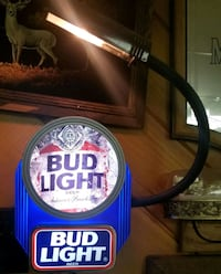 Bud Light 3D Wall sign with Lamp Newark