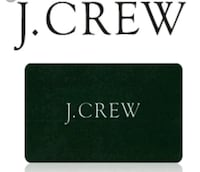 J Crew GC Bal $177.18 Washington, 20005