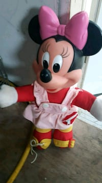 white and red Mickey Mouse plush toy London, N6C 4Z9