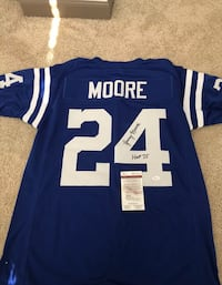 Lenny Moore autograph jersey Baltimore, 21237