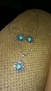 Turquoise jewelry set 10  Greeneville, 37743