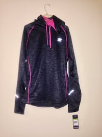 Purple and black zip-up jacket size XL Winnipeg, R2L 1P8
