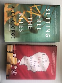 Two fiction books  Falls Church, 22043