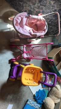 Toy strollers