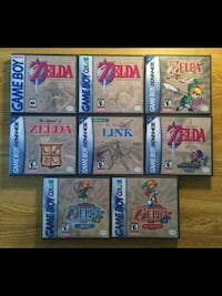 six assorted Nintendo DS game cartridges 3156 km