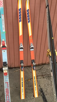 K2 Orange and yellow skis Moorhead, 56560