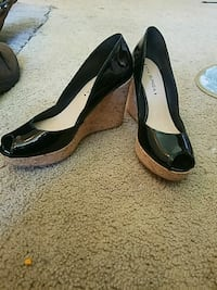 NEVER WORN High heel wedges size 8 Mounds View, 55112