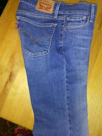 blue denim levi super skinny jeans 1815 mi