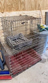 Heavy duty metal animal cages  Fayetteville, 30214