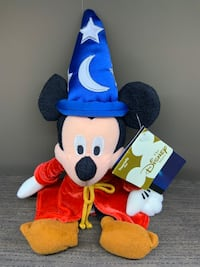 Mickey Mouse Fantasia Plush - 2000 Oakville, L6J 7T5