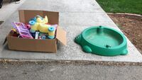 Toddler toys and sandbox / pool - message me for address to pick up Boulder