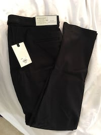 Brand New Women Pants Size 10 Dana Bachman Black Textured