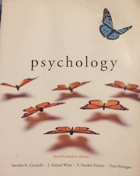 Psychology Second Canadian Edition book