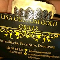 White gold Yellow gold...diamonds and silver Des Moines