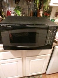 black and gray microwave oven Douglasville, 30134