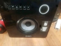 black and gray subwoofer speaker Selkirk, R1A 0Z9