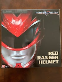 **MINT*** Power Rangers Red Ranger Helmet Washington, 20002