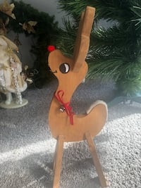 Rein deer cute with red nose Christmas Woodbridge, 22193