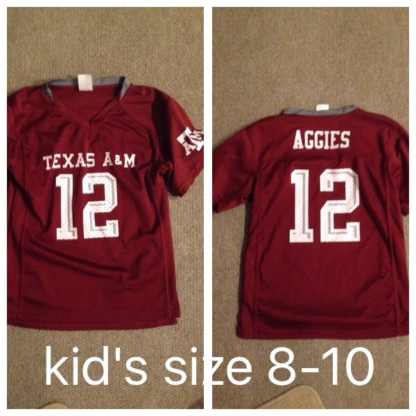super popular 03009 0cac9 Texas A&M football jersey kid's size 8-10