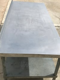 Stainless steel table with backsplash Downers Grove, 60515